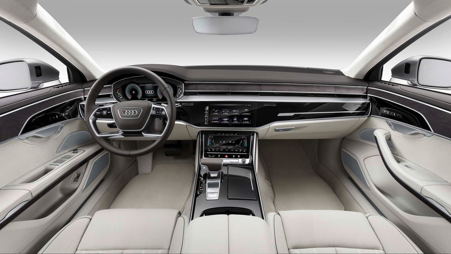 Audi A Has Lasers Foot Massagers And A Big Price Tag - Audi a8 price