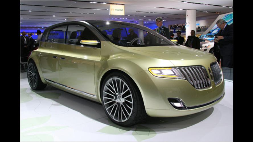 Feiner Kleiner: Lincoln C Concept zeigt kompakten Luxus