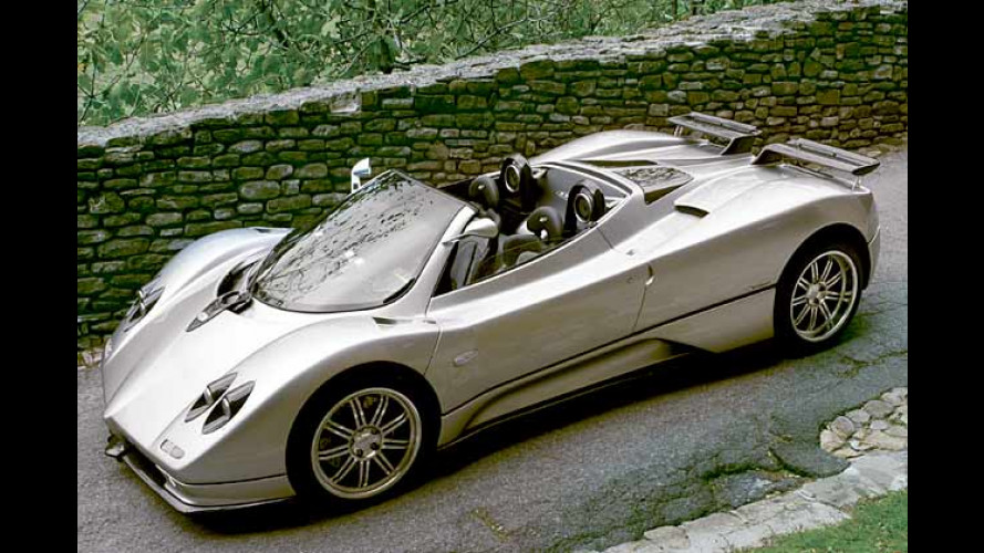 Pagani Zonda Roadster: Der wohl schnellste Fön der Welt