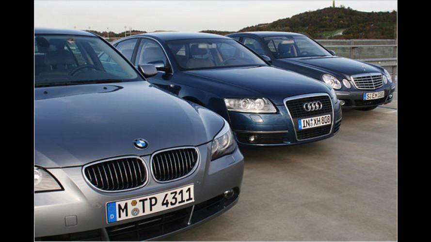 Alternative zur Weltreise: Limousinen der Oberen Mittelklasse