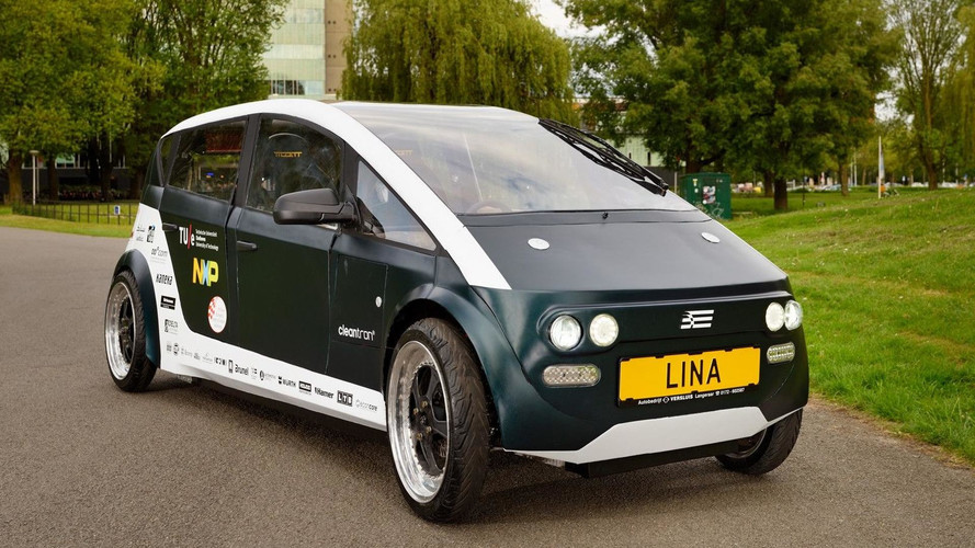 Lina EV With Bio Composite Body, Chassis Weighs Only 683 Pounds