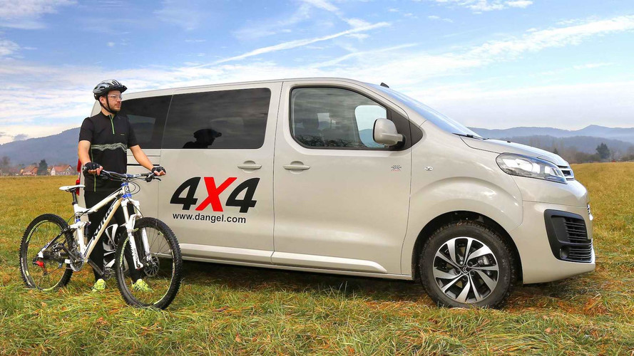 Citroën SpaceTourer 4x4 Dangel 2017: ¡al campo!