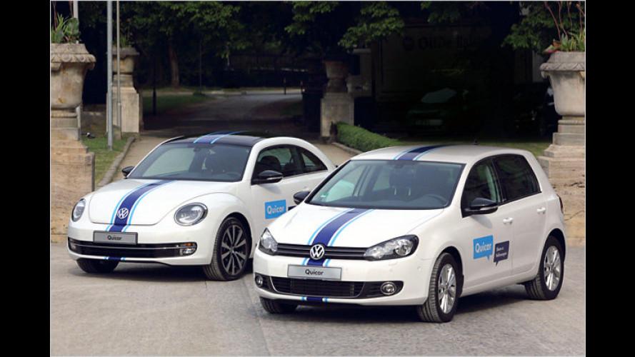 Volkswagen zieht mit Carsharing-Projekt nach