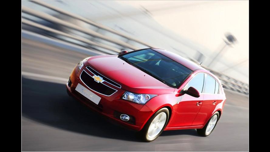 Chevrolet Cruze Fließheck: Fünftürer startet im Sommer