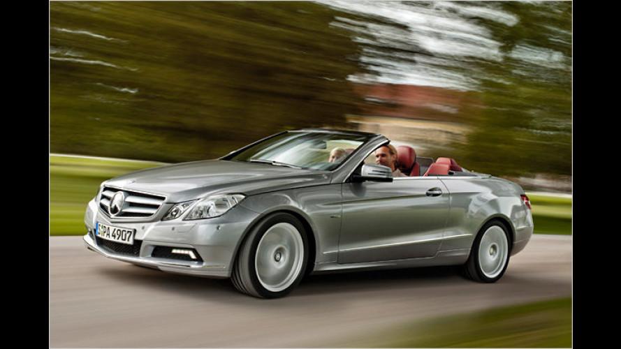 Mercedes E-Klasse Cabrio ab sofort bestellbar