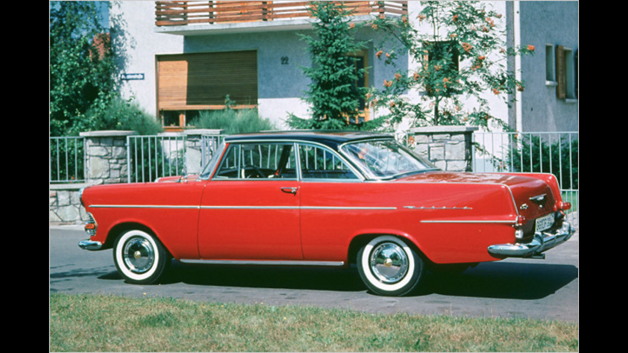 Opel Rekord P2 Coupé: ,Rasender Kofferraum