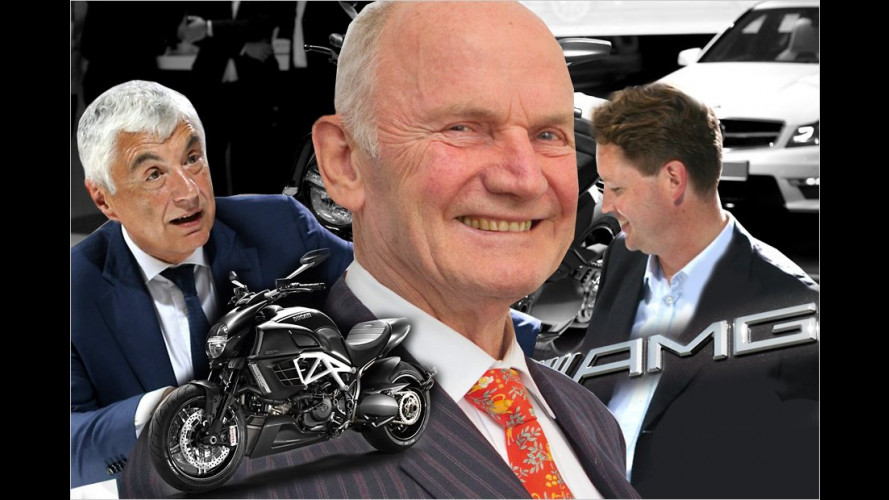 Mercedes beendet Marketing-Kooperation mit Ducati