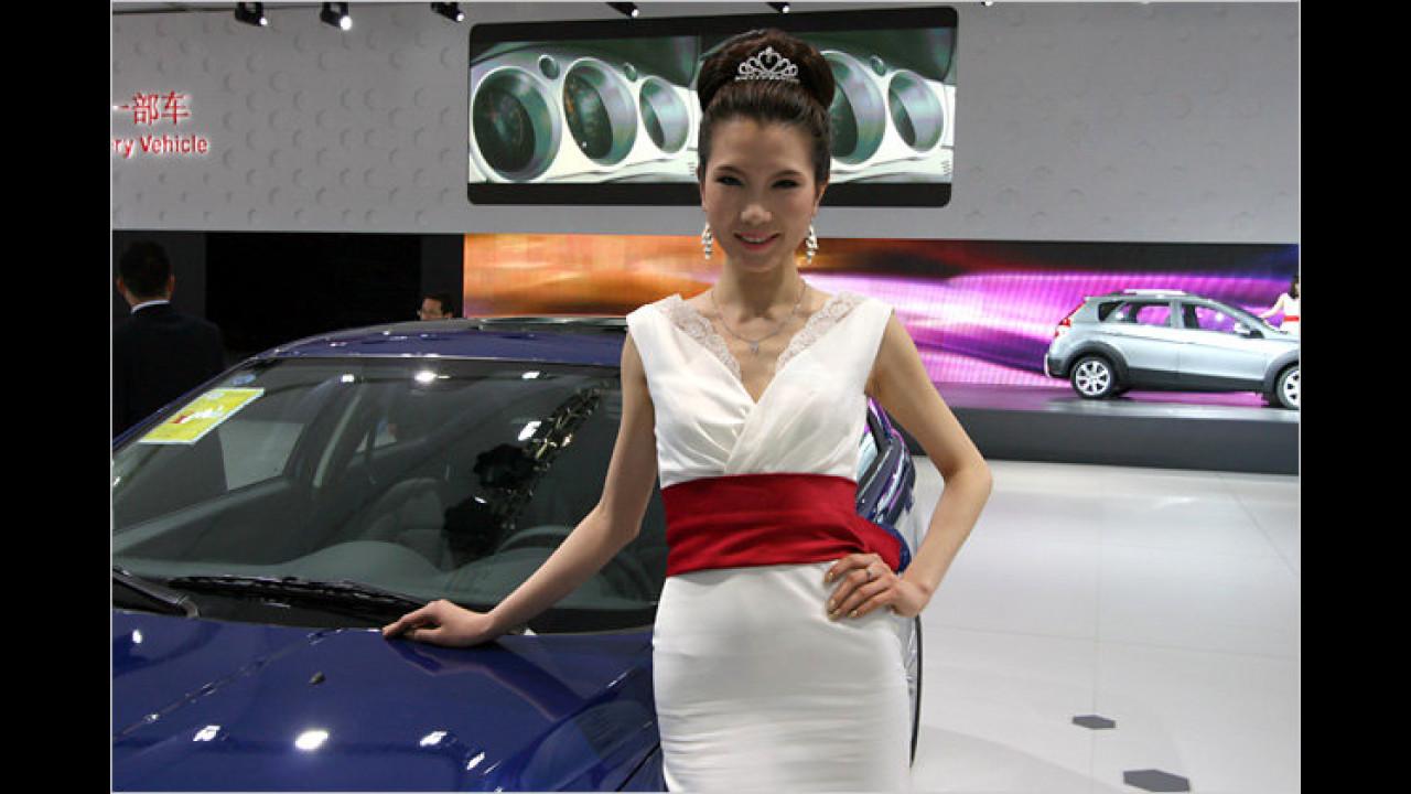 Die Prinzessin von Peking auf der Messe