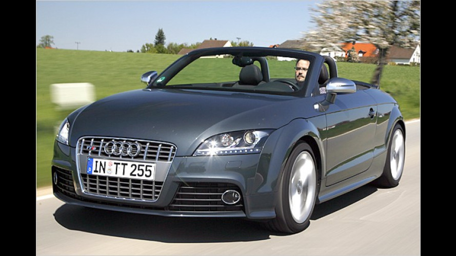 """Der neue Audi TTS (2008): """"S"""" wie Sound, Spaß und Sport"""