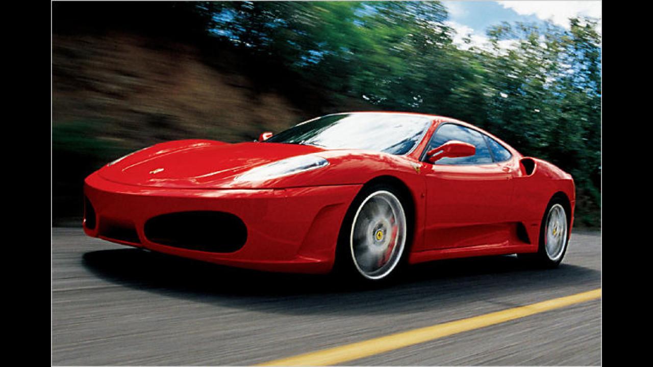 Platz 3: Ferrari F430