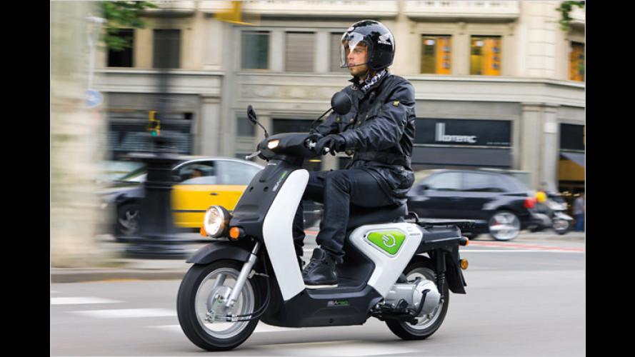 Honda EV-neo: E-Roller-Testphase in Europa