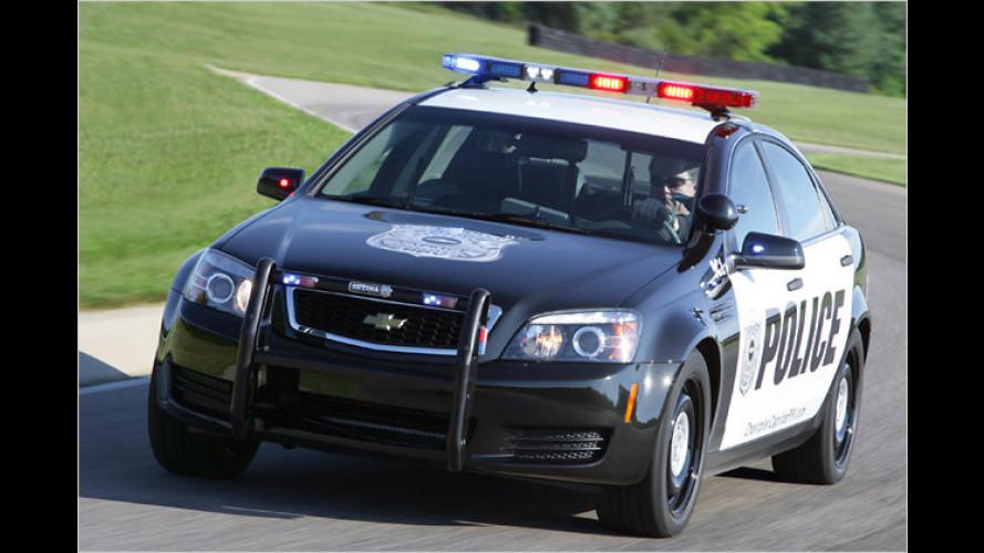 Chevy Caprice Police: Neuer Straßenkreuzer für US-Sheriffs