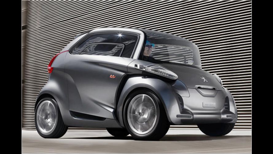 Hier ist alles etwas anders: Concept Car Peugeot BB1