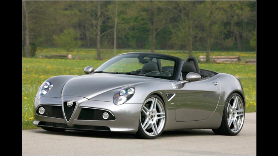 Alfa Romeo 8C: Dank Novitec im 300-km/h-Club