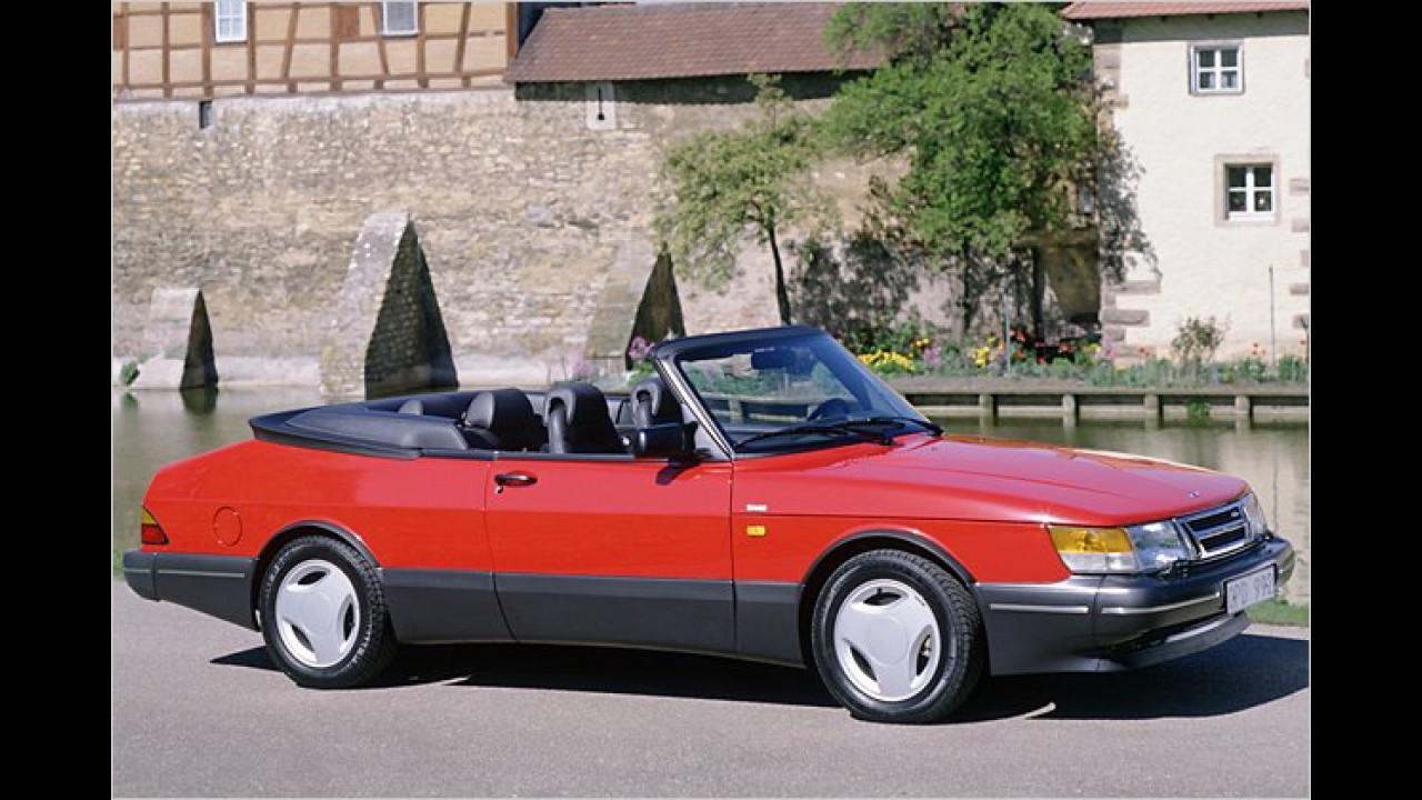 Platz 25: Saab 900 (5,8 Prozent)