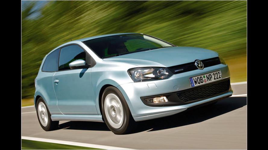 Spar-VW ist da: Polo BlueMotion ab sofort bestellbar