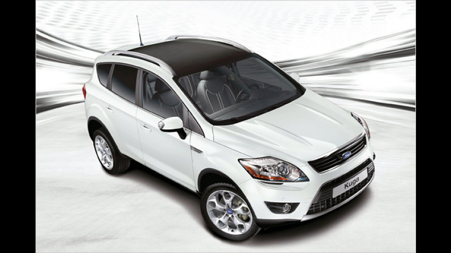 Ford Kuga White Magic: Zauberhaftes Sondermodell