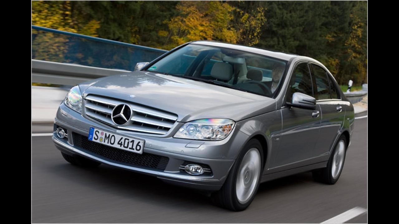 Platz 1 Premium-Mittelklasse: Mercedes C-Klasse