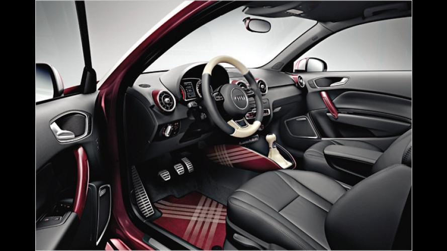 Audi macht den A1 zum kleinkarierten Individualisten