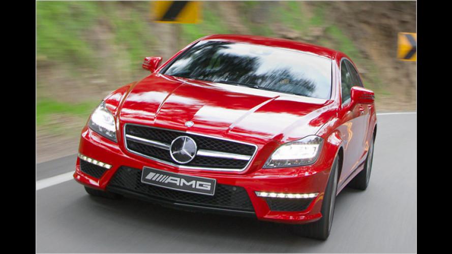 Edel-Express: Neuer Mercedes CLS 63 AMG