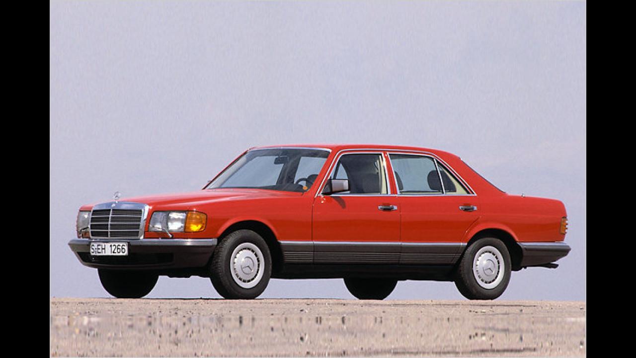 30 Jahre Mercedes S-Klasse