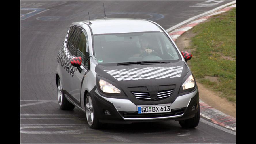 Opel Meriva erwischt: Neuer kommt mit gegenläufigen Türen