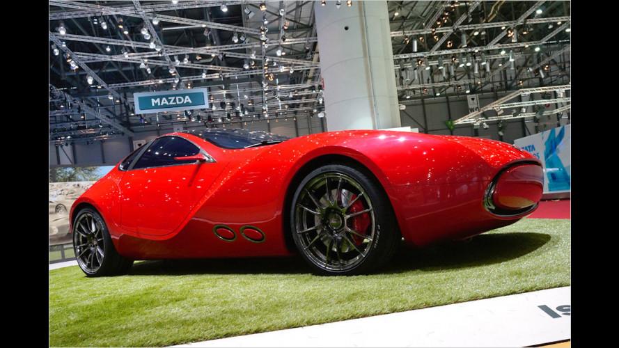 IED Turin zeigt auf dem Genfer Auto-Salon 2012 den Cisitalia 202 E