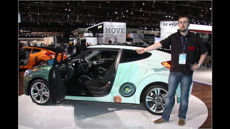 Hyundai Veloster (2011) im ersten Check