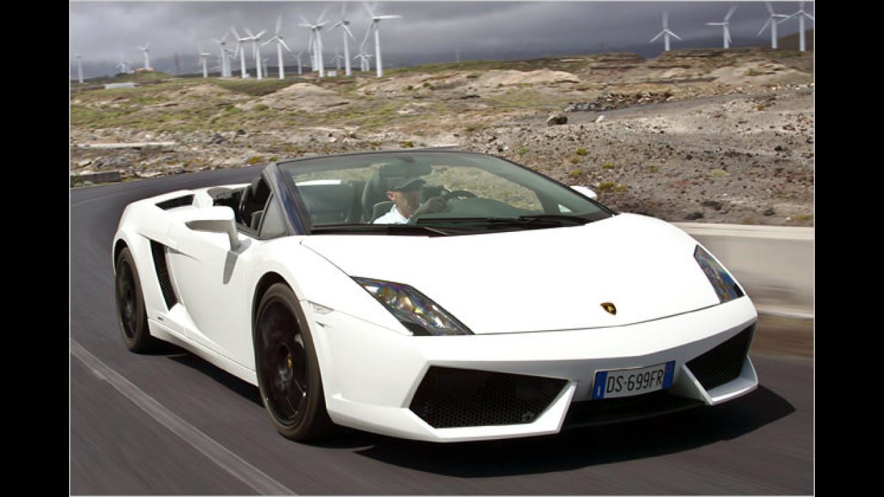 Lamborghini Gallardo Spyder LP560-4 E-Gear