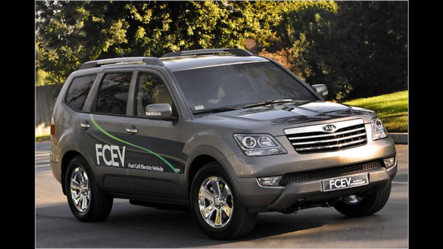 L.A. Auto Show 2008: Kia setzt auf die Brennstoffzelle