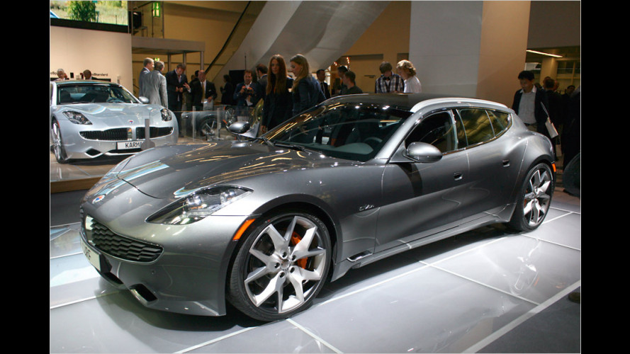 Hybrid-Luxussportler: Fisker Surf