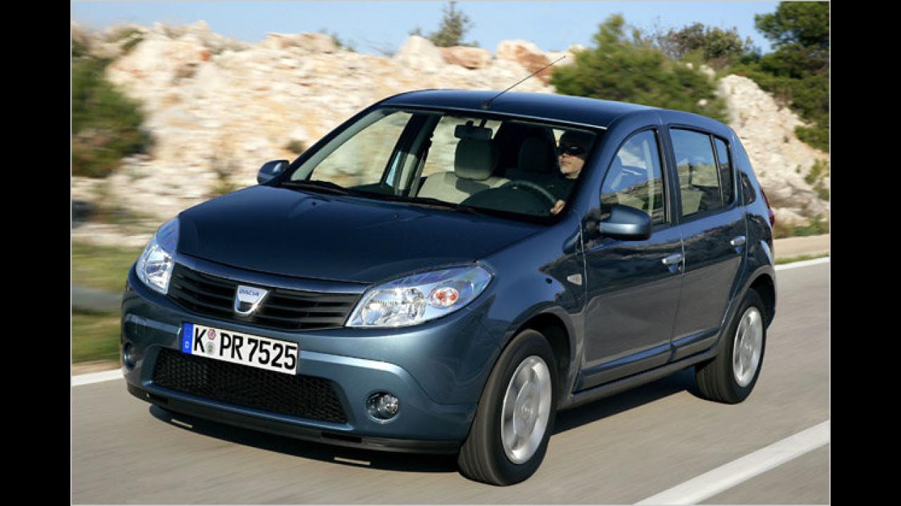 Dacia Sandero 1.4: 6.990 Euro