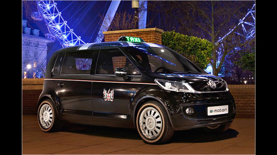 Außen klein, innen geräumig: London-Taxi aus Wolfsburg