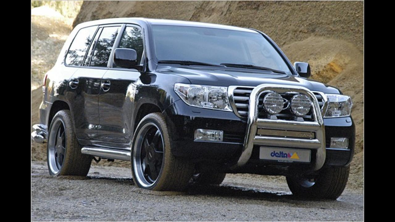 Mehr PS: Land Cruiser V8
