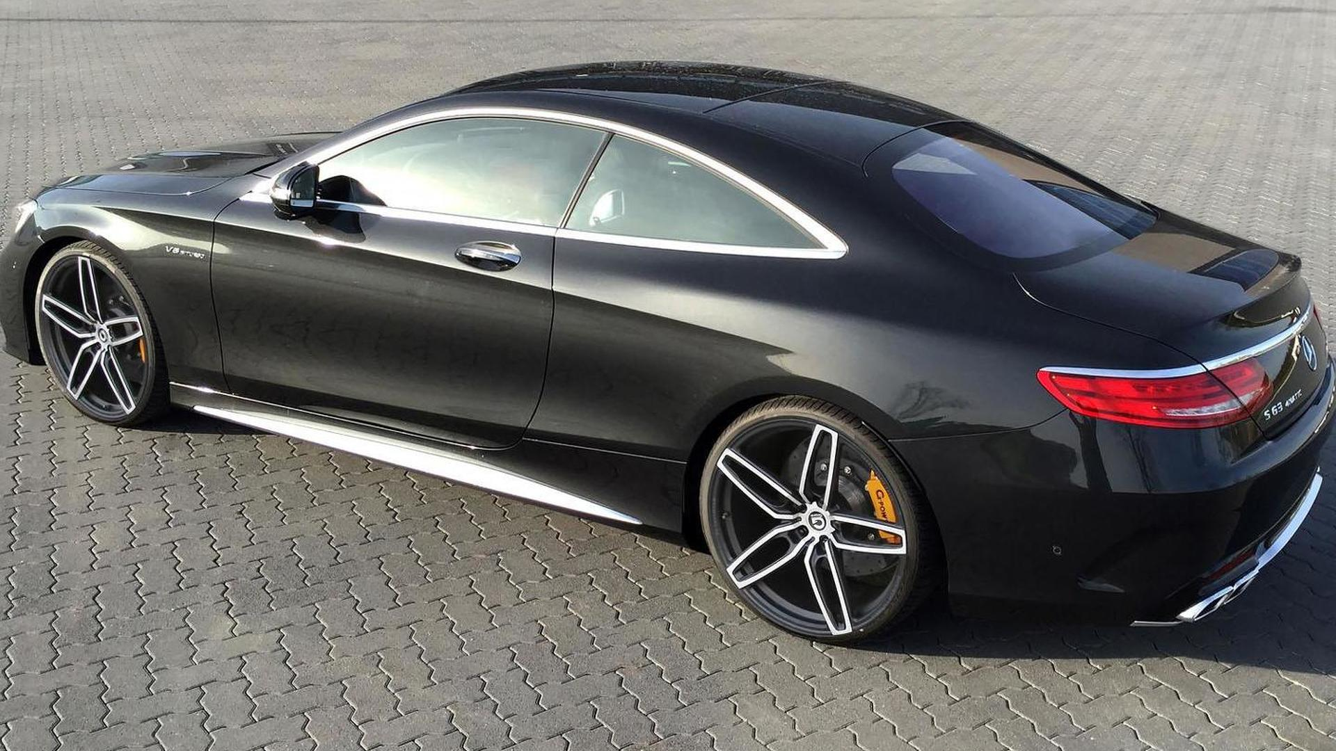S63 Amg Coupe >> Mercedes S63 Amg Coupe By G Power Motor1 Com Photos