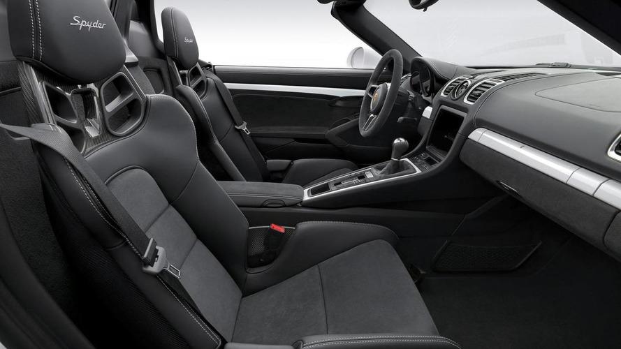 Porsche showcases the new Boxster Spyder [video]