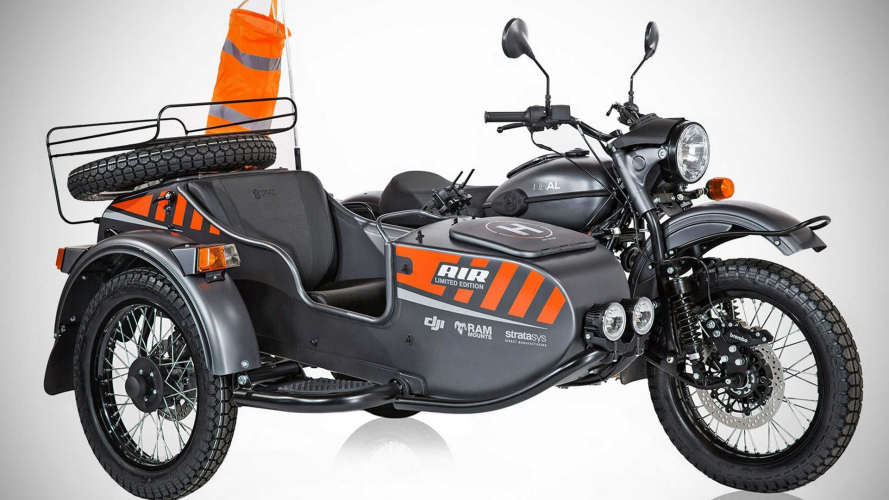 Ural Air, il sidecar con il drone incorporato [VIDEO]