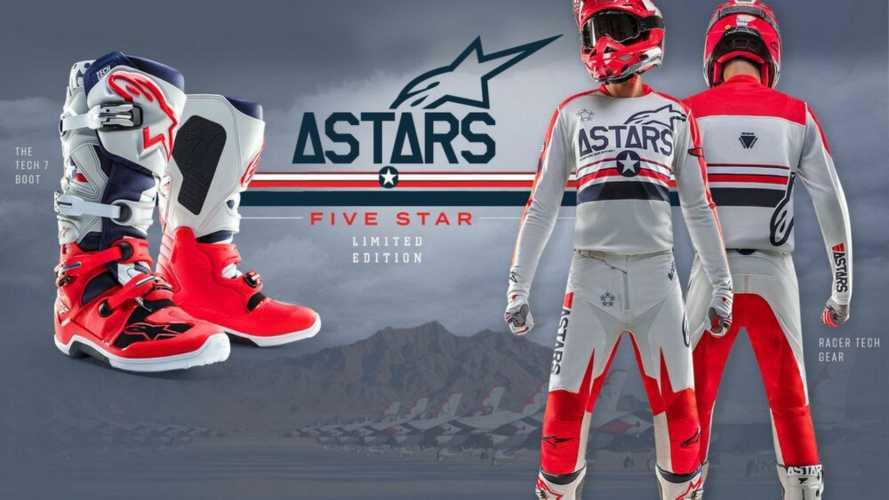 Alpinestars San Diego 5Star, la limited edition dedicata ai top gun americani