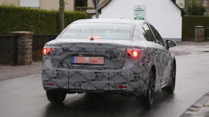 2016 Toyota Avensis sedan spied showing new headlight & taillight graphics