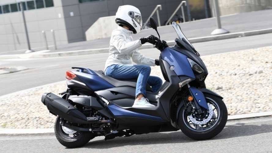 Yamaha X-MAX 400 ABS 2018 - TEST