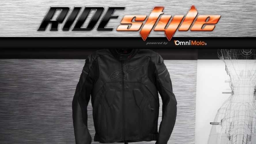 RideStyle: giubbotto Alpinestars Core Leather Jacket [VIDEO]