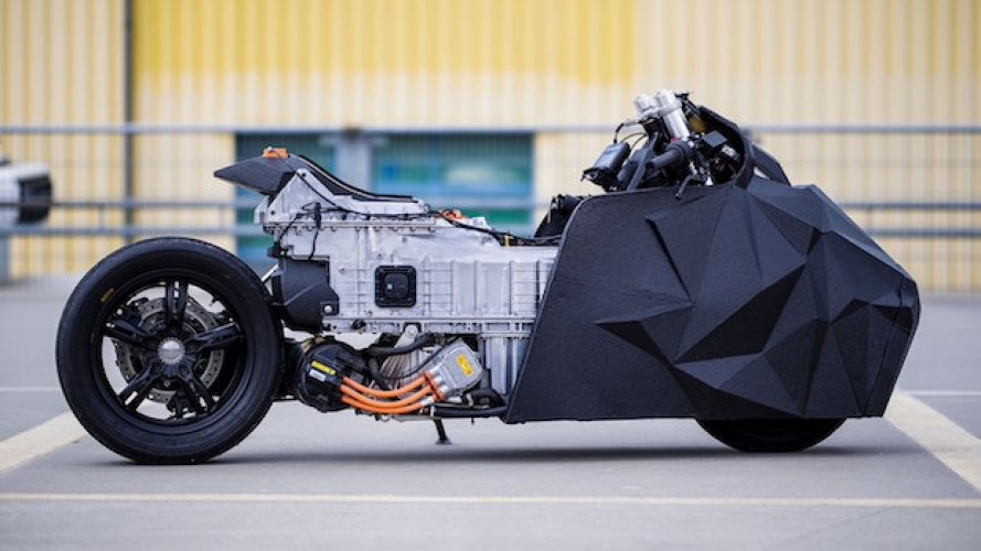 BMW C Evolution by Krautmotors, trasformazione radicale