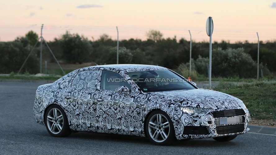 2016 Audi A4 spied up close in Germany