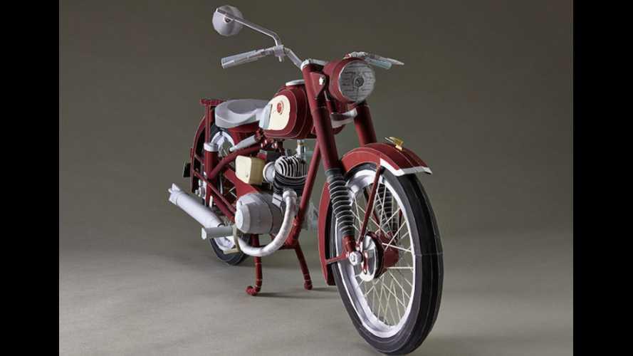 Yamaha YA-1 cartamodello