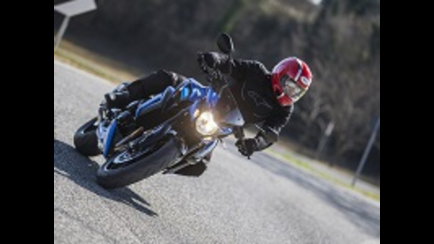 Suzuki GSX-S750 Yugen Carbon Test