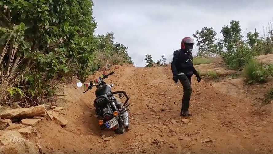 Off-Roading A Himalayan, Yay. Off-Roading A Classic 350, Nay.