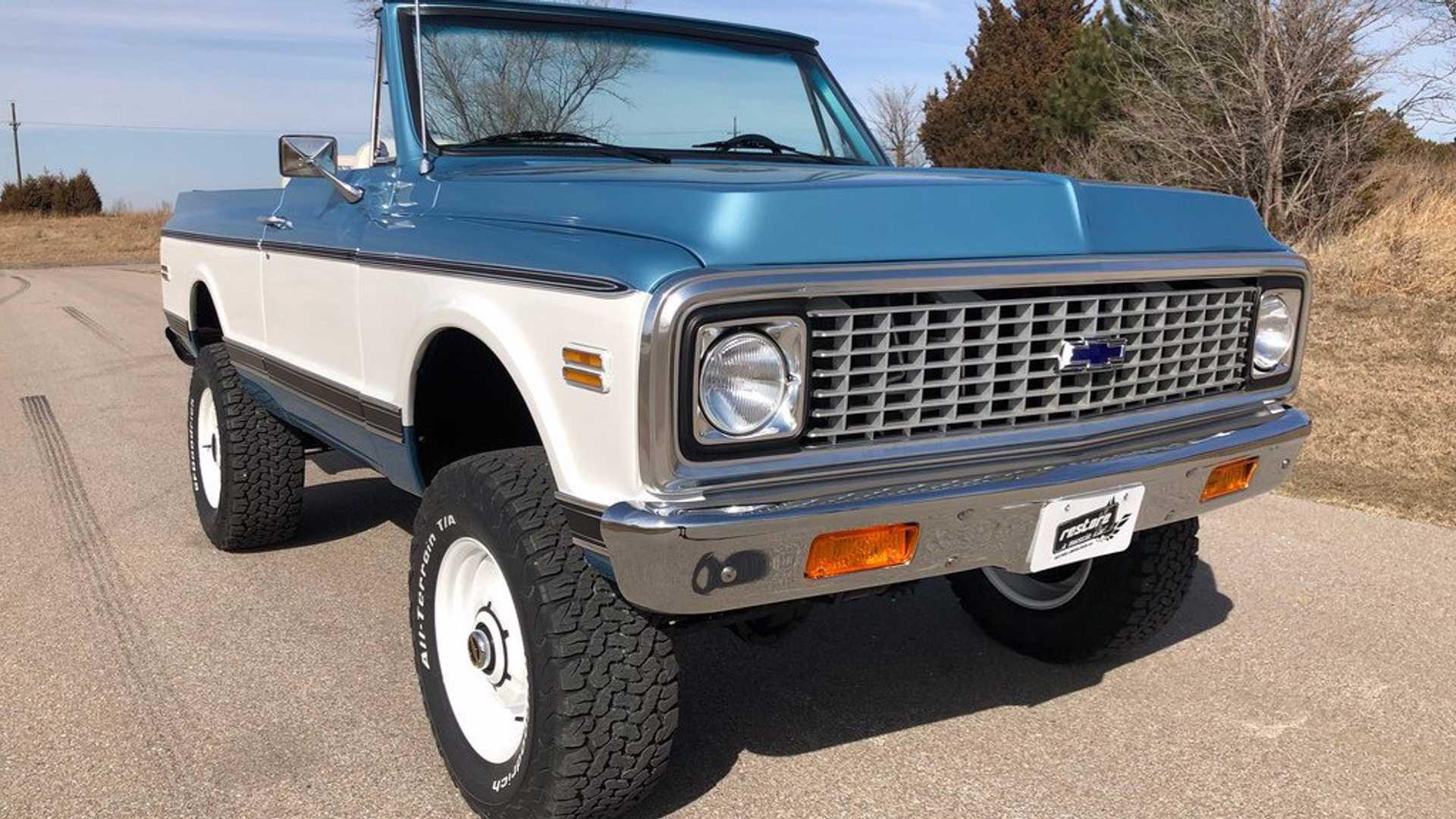 "[""1972 Chevrolet K5 Blazer Is A Perfect Resto-Mod Off-Roader""]"