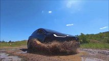 Tesla Model X Tackles Off-Road Track With Mud Tires