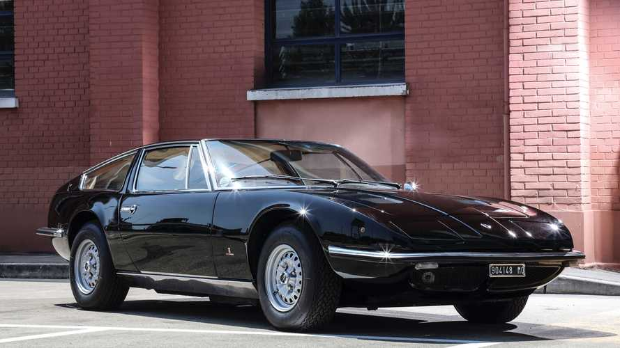 50th Anniversary Of First Maserati Indy Coupe Delivery Celebrated