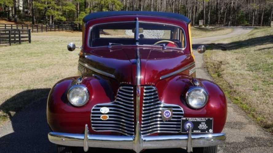This 1940 Buick Woody Is The Real Deal
